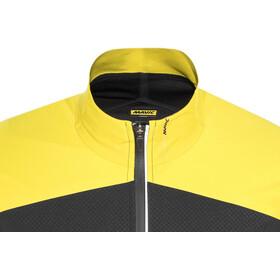 Mavic Cosmic Pro Softshell Veste Homme, black/yellow mavic